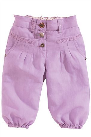 Buy Linen Blend Cropped Trousers (3mths-6yrs) from the Next UK online shop £8.50