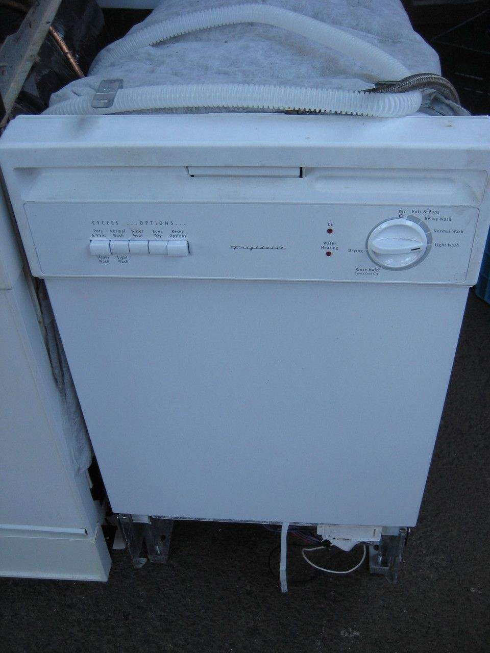 Appliance City - Frigidaire 18 inch Built-in Dishwasher with 5 ...