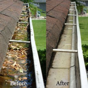 Services Building Maintenance Cleaning Gutters Eavestrough Cleaning