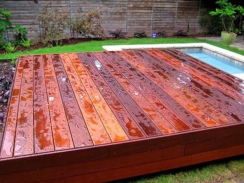 Ipe Vs Trex Transcend Composite Which Is Better For Decking East Teak Deck Hardwood Decking Deck Builders