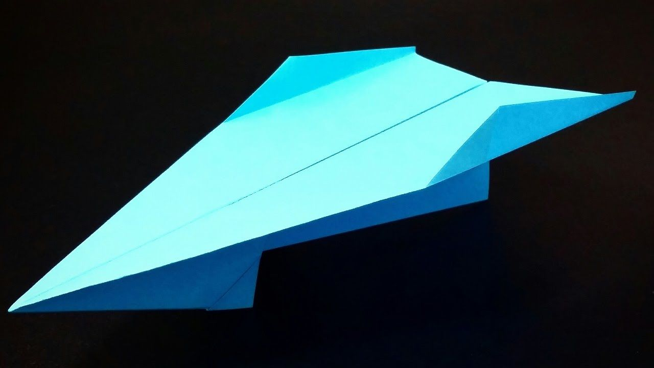 How to make a Paper Airplane that FLIES 10000 Feet - Easy Paper Planes t...