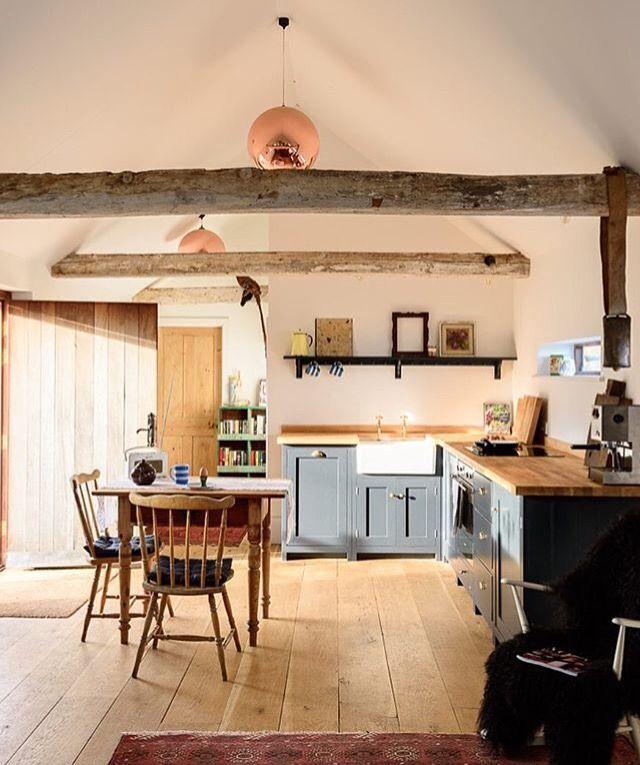 Kitchen Design Sussex: Inside Lidham Hill Farm, East Sussex, UK
