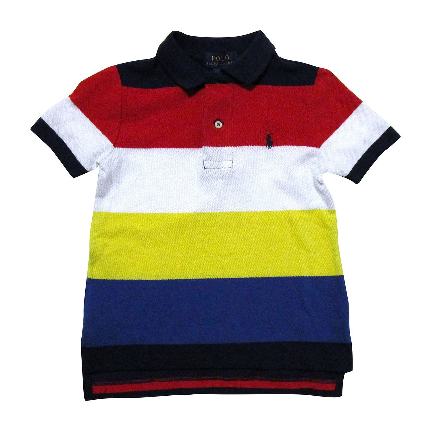 f8bf3c0c41ab89 Amazon.com  Polo Ralph Lauren Toddler   Little Boys  Striped Polo Shirt (2T    Toddler