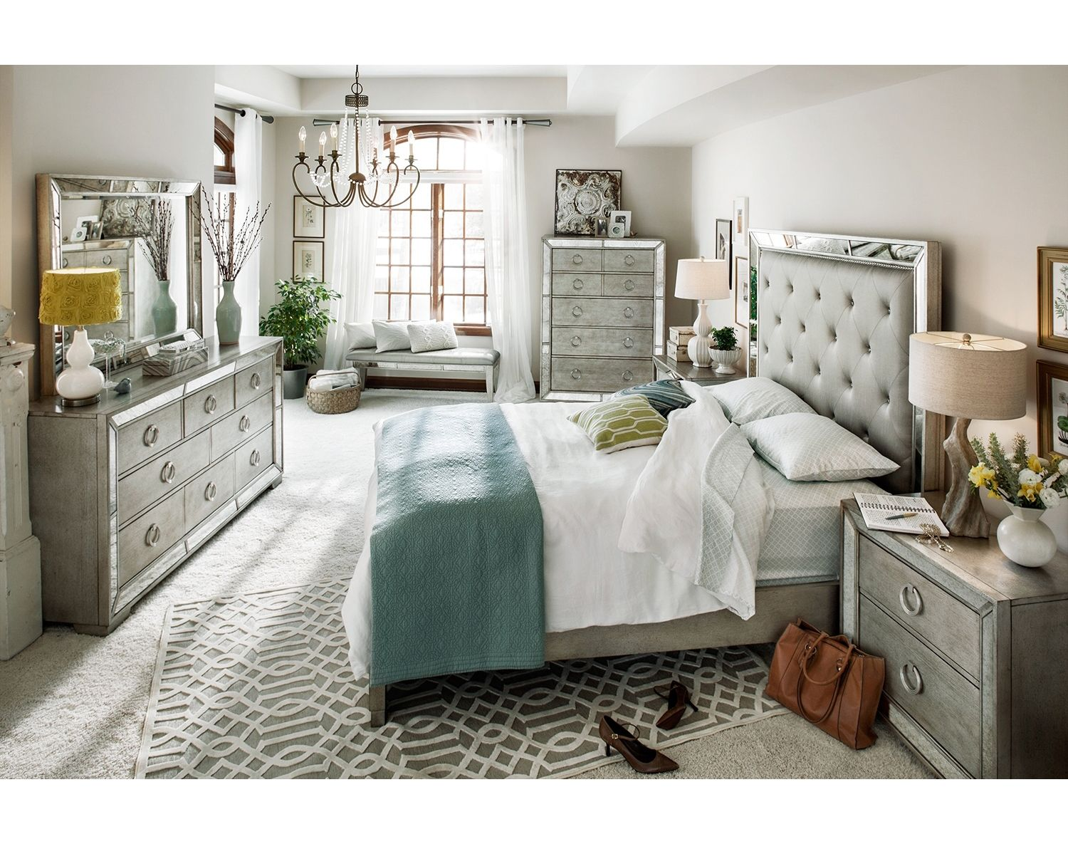 Best The Angelina Collection American Signature Furniture 400 x 300