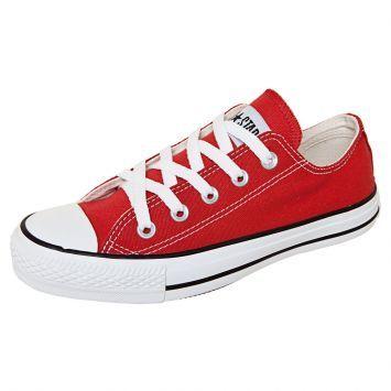 Tênis CT All Star Core Ox Vermelho Converse | Tênis vermelho