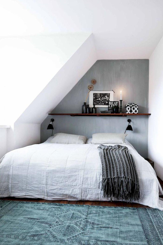 Loft bedroom style  Awesome  Cozy Attic Loft Bedroom Design u Decor Ideas