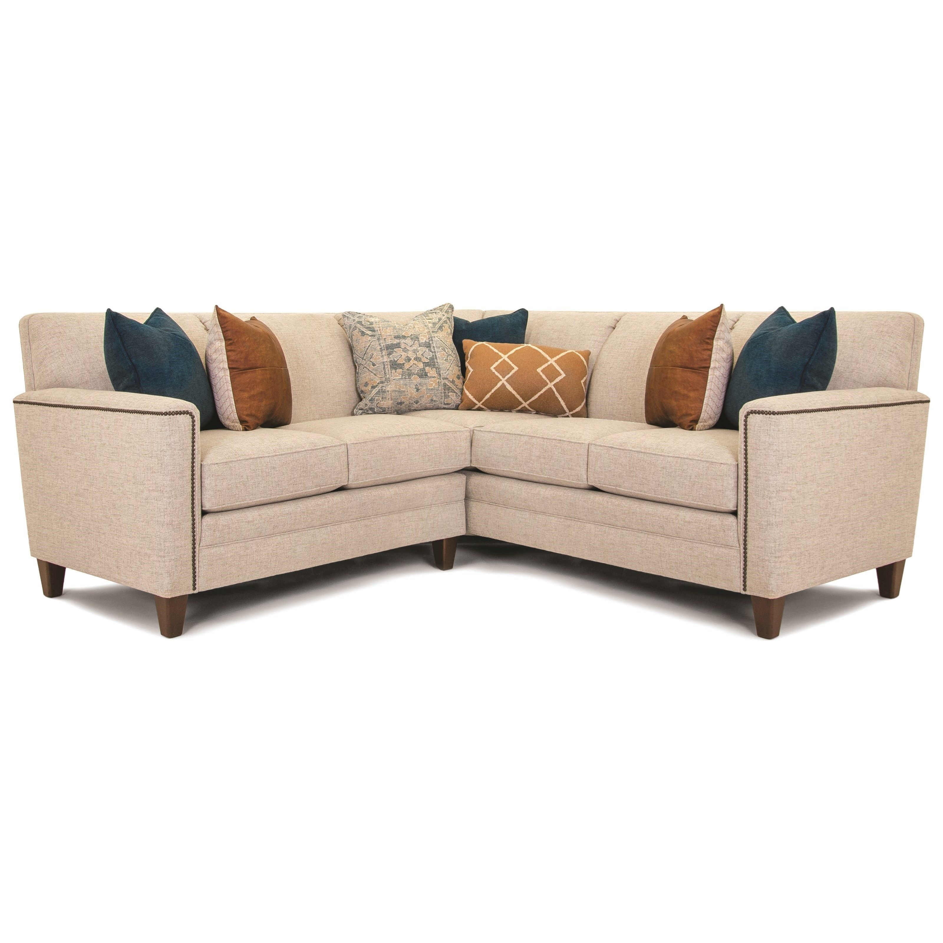 Build Your Own 3000 Series Customizable 2 Piece Sectional By Smith Brothers At Darvin Furniture Sectional Couch With Chaise Mattress Furniture
