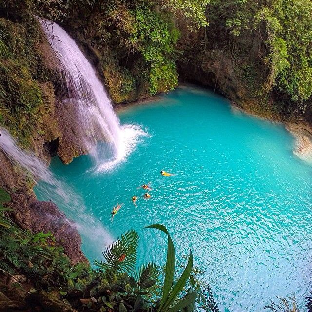 Kawasan Falls Cebu Philippines Beautiful Places Travel Plan Pinterest Kawasan