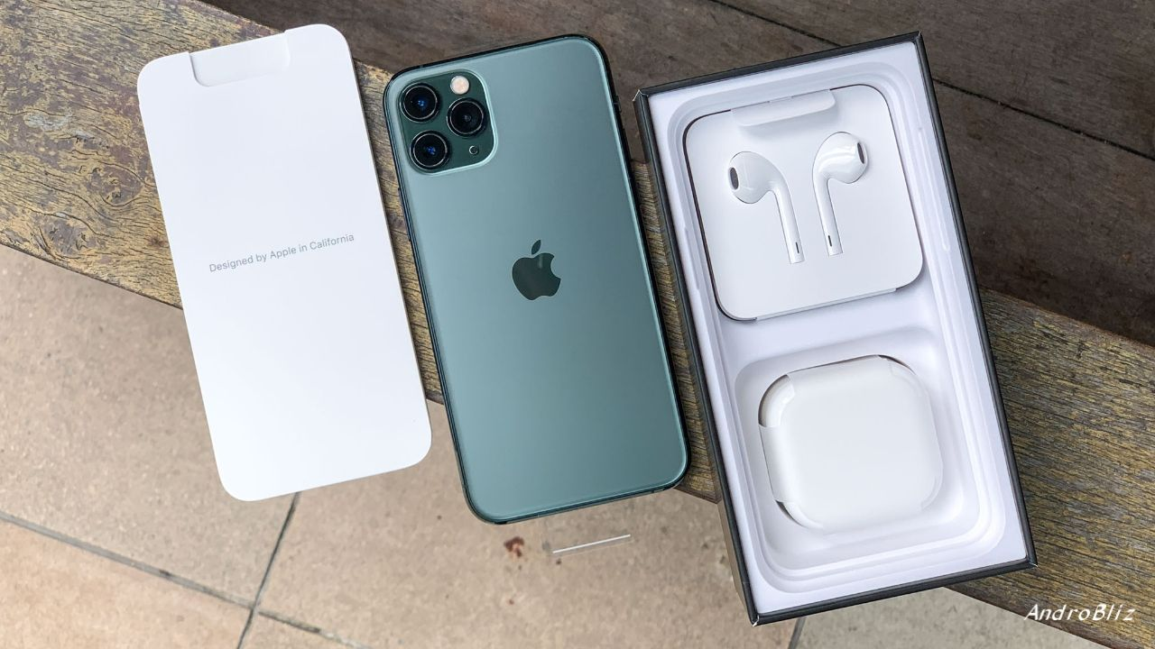 Unboxing Hands On Iphone 11 Pro Midnight Green Androbliz Uk Iphone Apple Smartphone Iphone 11 Pro Midnight Green