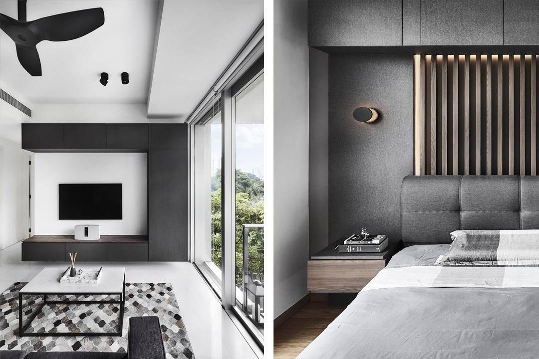 10 Design Firms That Create Contemporary Homes In Singapore Contemporary House Contemporary Apartment Home