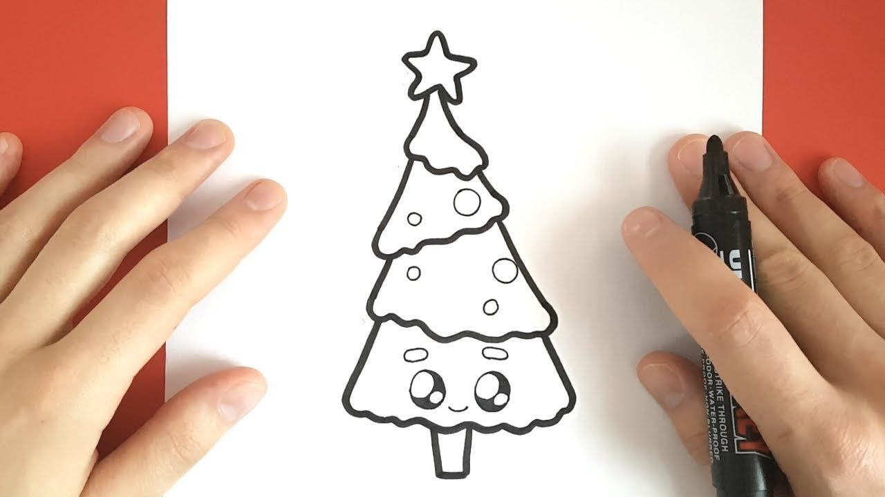 Dessin De Sapin De Noël Kawaii Sapin Dessin Dessin Et Kawaii