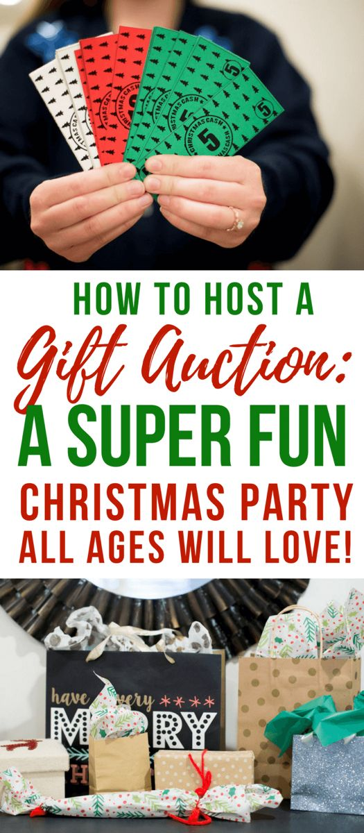 How to Do A Christmas Party Gift Auction-White Elephant Party Game!