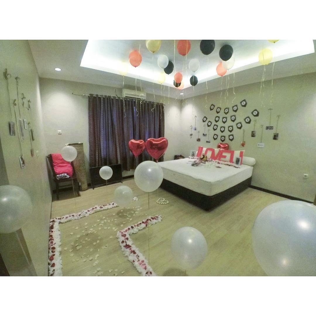Dekorasi surprise ulang tahun untuk pacar dekorasi kamar for Dekor kamar hotel buat ulang tahun