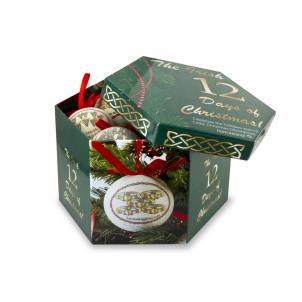 12 Irish Days Of Christmas Ornament Set Keepsake Box Irish Christmas Irish Christmas Gifts Christmas Ornaments Gifts