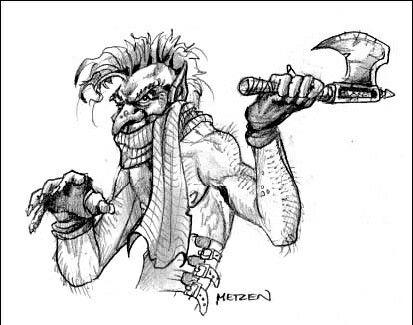 Warcraft 2 Concept Art