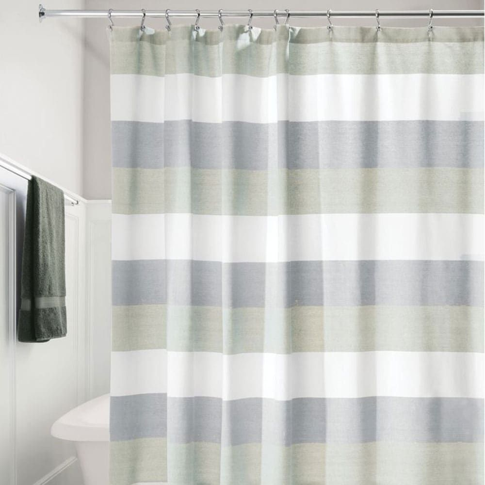 Linen Chest Wide Multi Shower Curtain Fabric Shower Curtains Curtains Shower