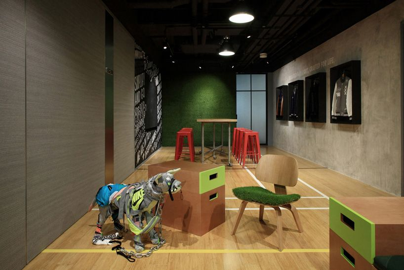 Openuu S Conference Center Explores The Brand Dna Of Nike