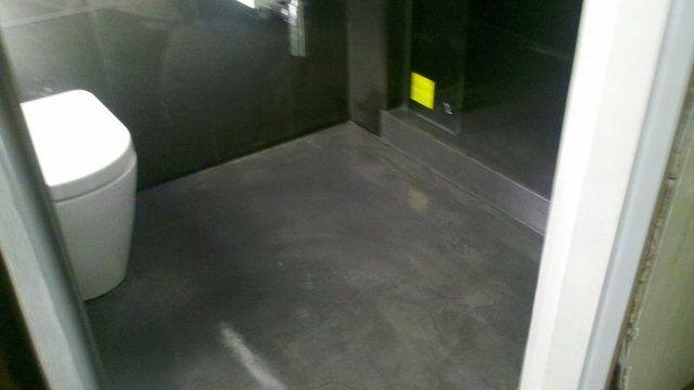 Concrete Bathroom Floor Amazing  Masterbath  Pinterest Alluring Flooring For Bathrooms Design Inspiration