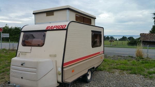 rapido club 30 wohnwagen in schwarzenbach kaufen bei auto. Black Bedroom Furniture Sets. Home Design Ideas