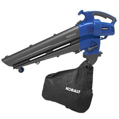 Kobalt 12 Amp Leaf Blower Vacuum Leaf Blower Vacuums Easy Garden