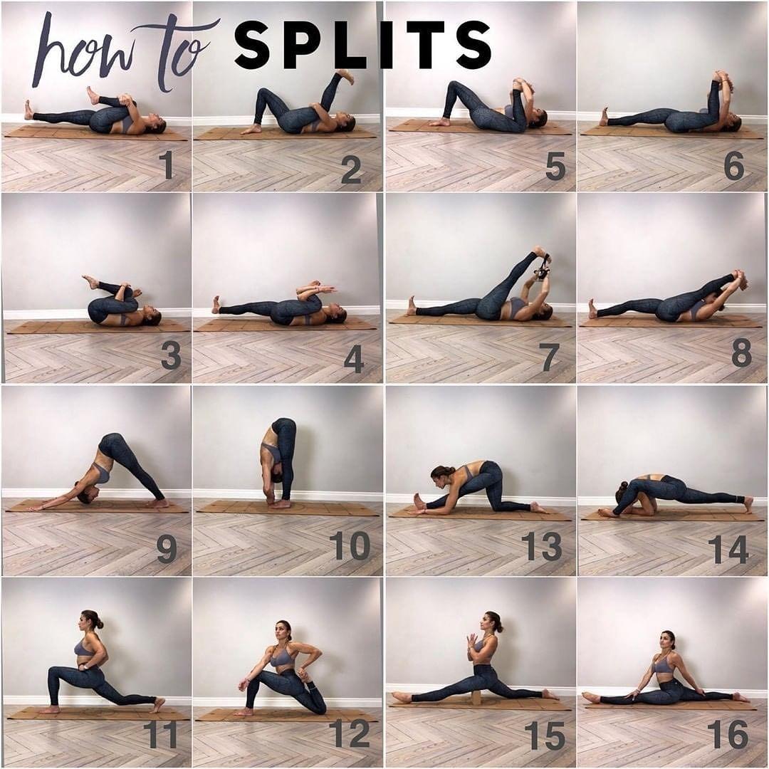 23++ Yoga flow for splits trends