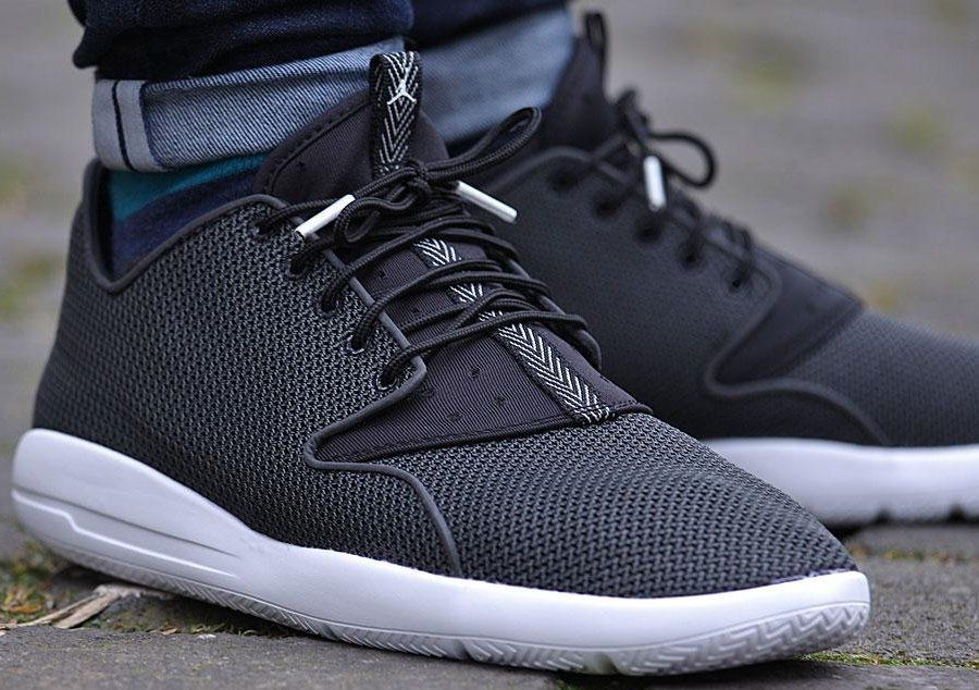 100% genuine run shoes order Jordan Eclipse Black/Anthracite/White Men's 724010-010 Shoes ...