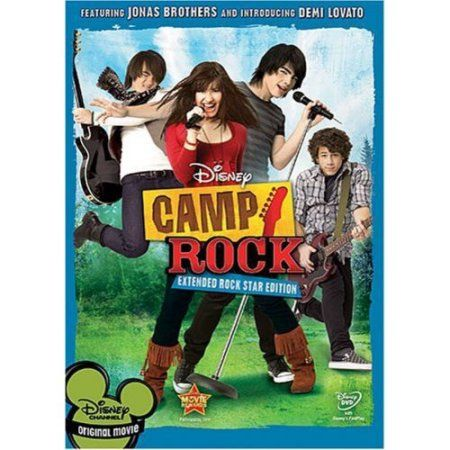 Camp Rock Extended Rock Star Edition Full Frame Camp Rock Disney Channel Movies Disney Original Movies