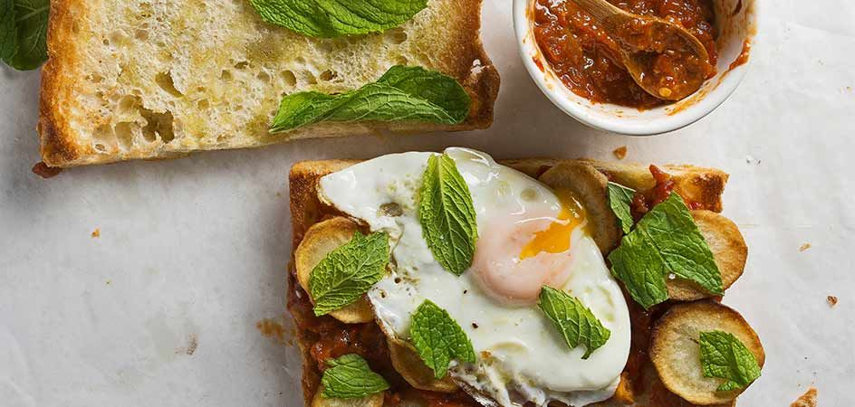 Learn how to take your egg to the next level with bacon knot challah bread, kimchi and more
