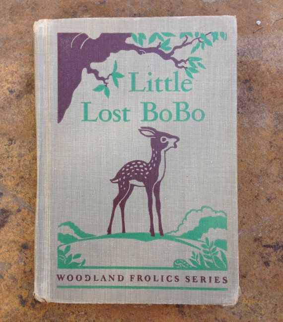 Little Lost BoBo 1947 Second Grade Reader Part of the by Giddies