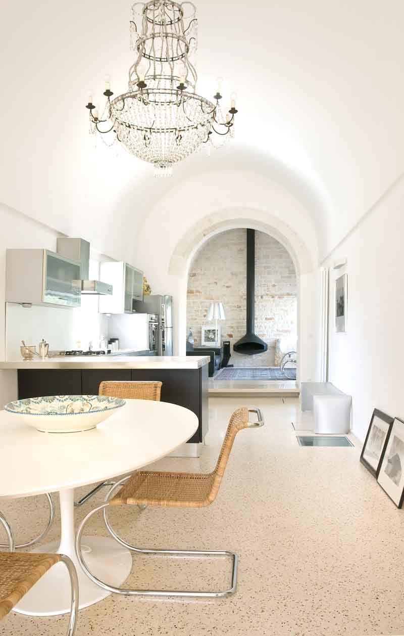 La villa di un chirurgo in Puglia, a Martina Franca, conserva l ...