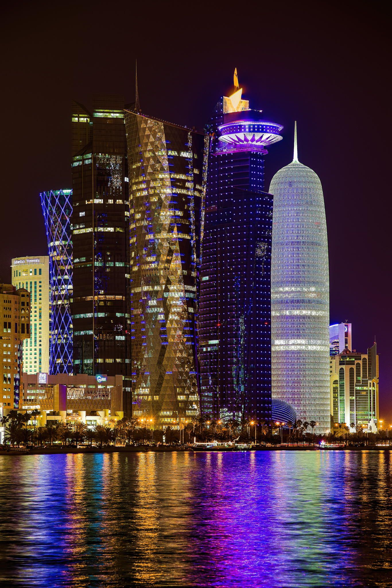 And 6 lusail katara hotel doha qatar pictures to pin on pinterest - Doha At Night Qatar Marynistyka Org Marynistyka Pl