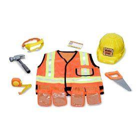 Construction Worker Costume  sc 1 st  Pinterest & Construction Worker Costume | Fun fashion | Pinterest | Construction ...