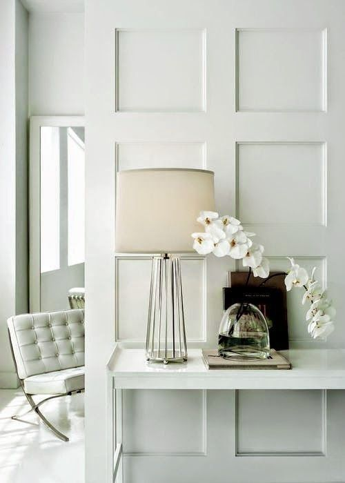 27 Wall Paneling Interior Ideas Interiorforlife.com All in white ...