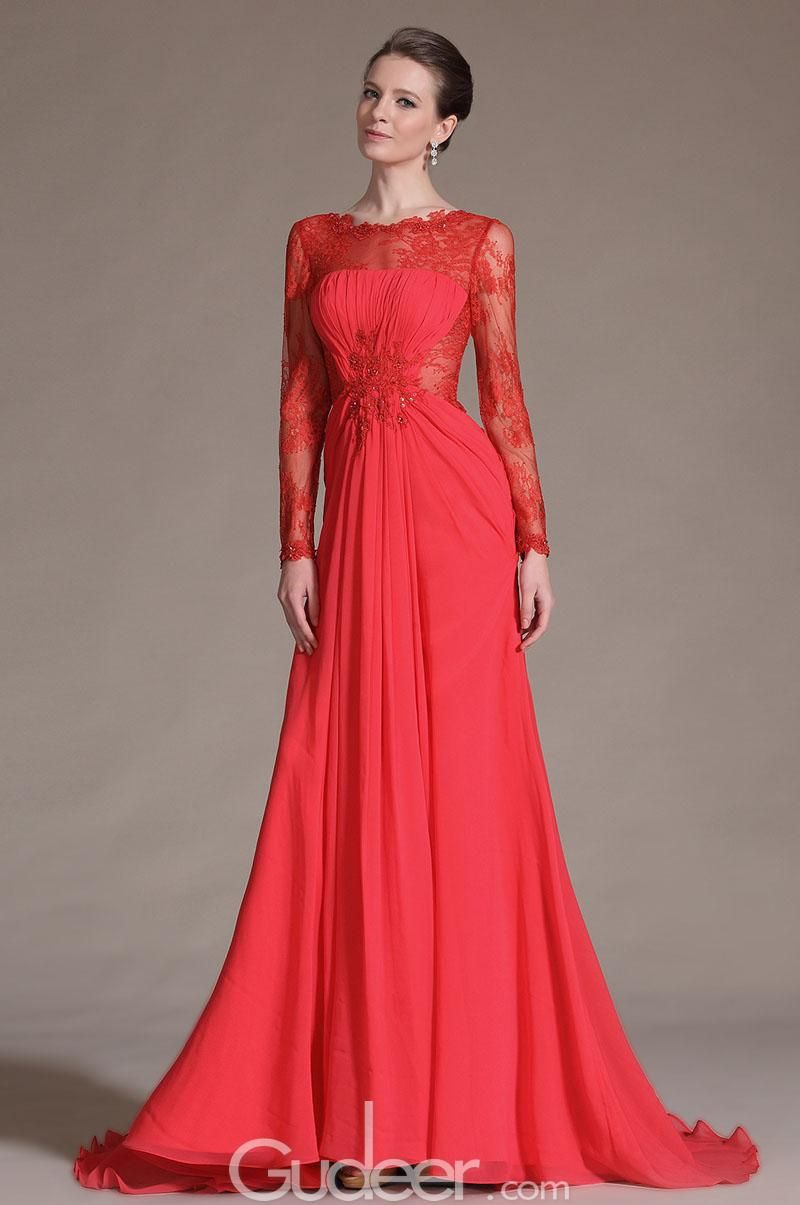 long red evening dress - Google Search | My Wedding outfit ...