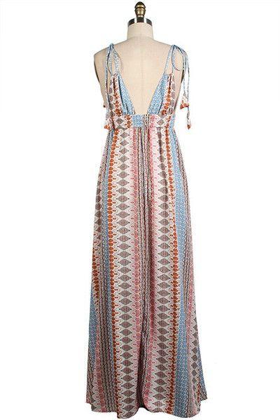 Vintage Maxi Dress #ShopMCE
