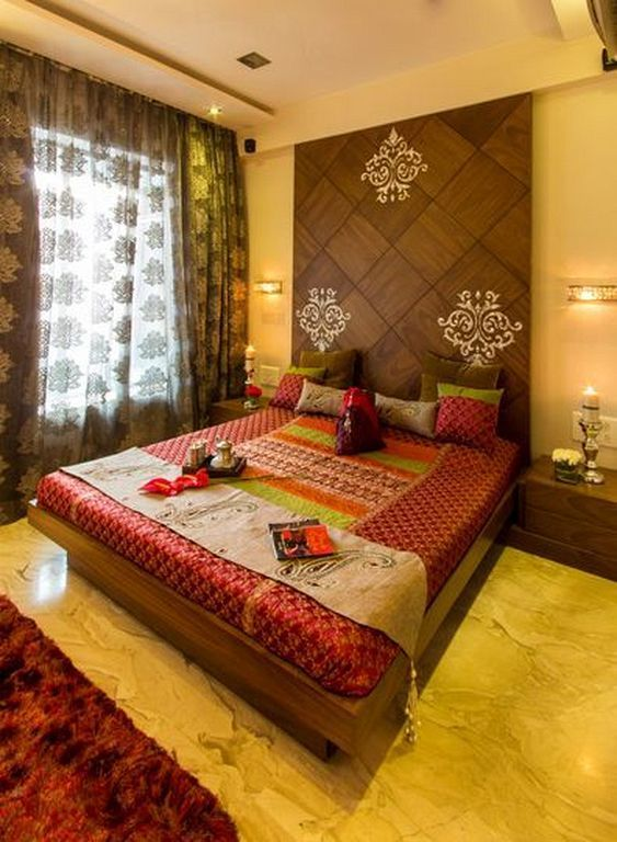 Living Room Designs Indian Style: 20+ Modern Bedroom Design And Decorating Ideas With Indian