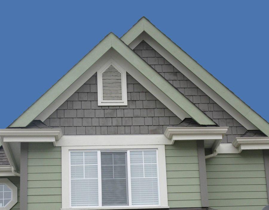 Cedar Gable Vents Gable Vents Exterior House Siding Hamptons House