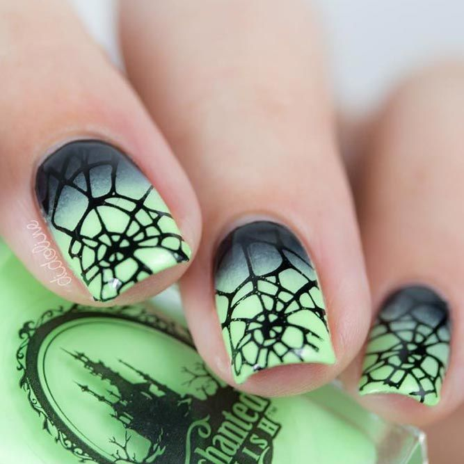 21 Cool Halloween Nail Art Ideas for You to be Delighted | Uñas de ...