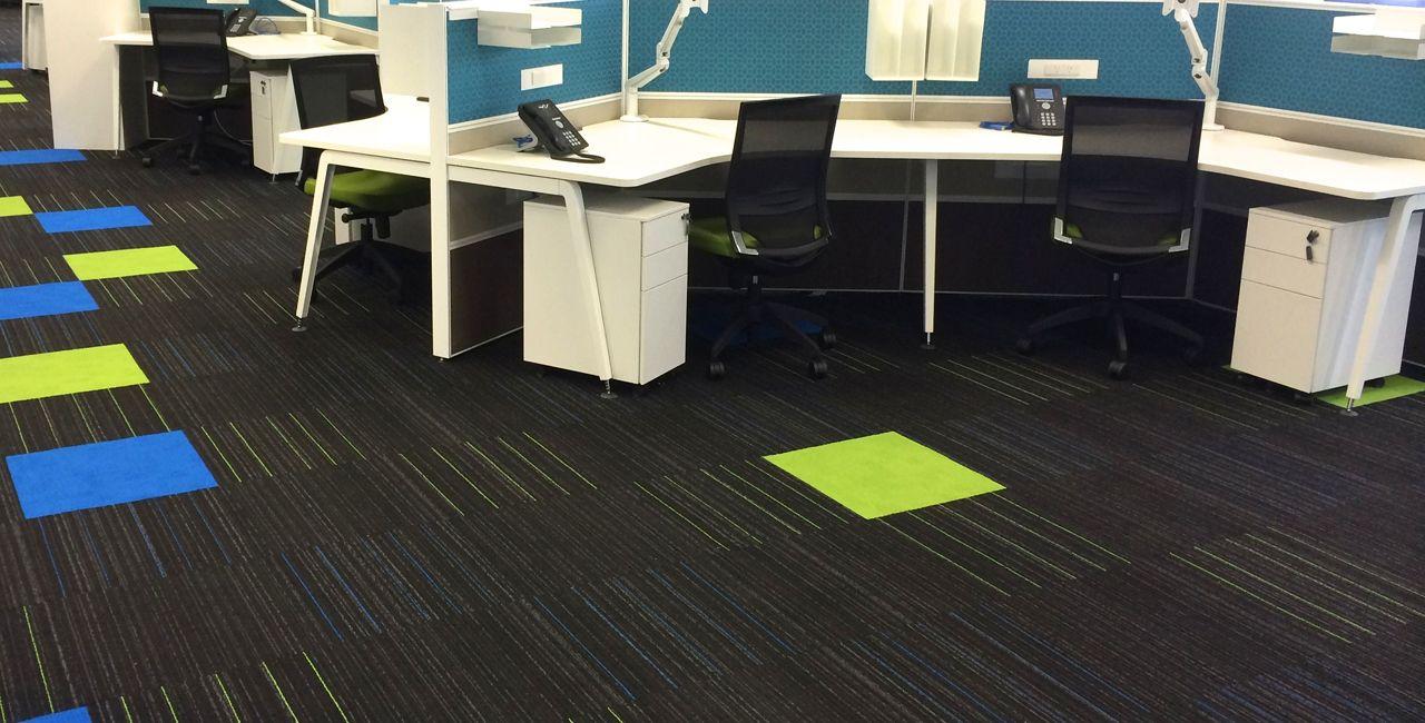 Rinnai Head Office, Melbourne Carpet installation