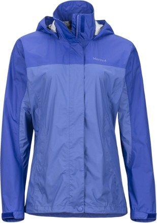 Marmot Women's PreCip Rain Jacket Lilac/Spectrum Blue XXL
