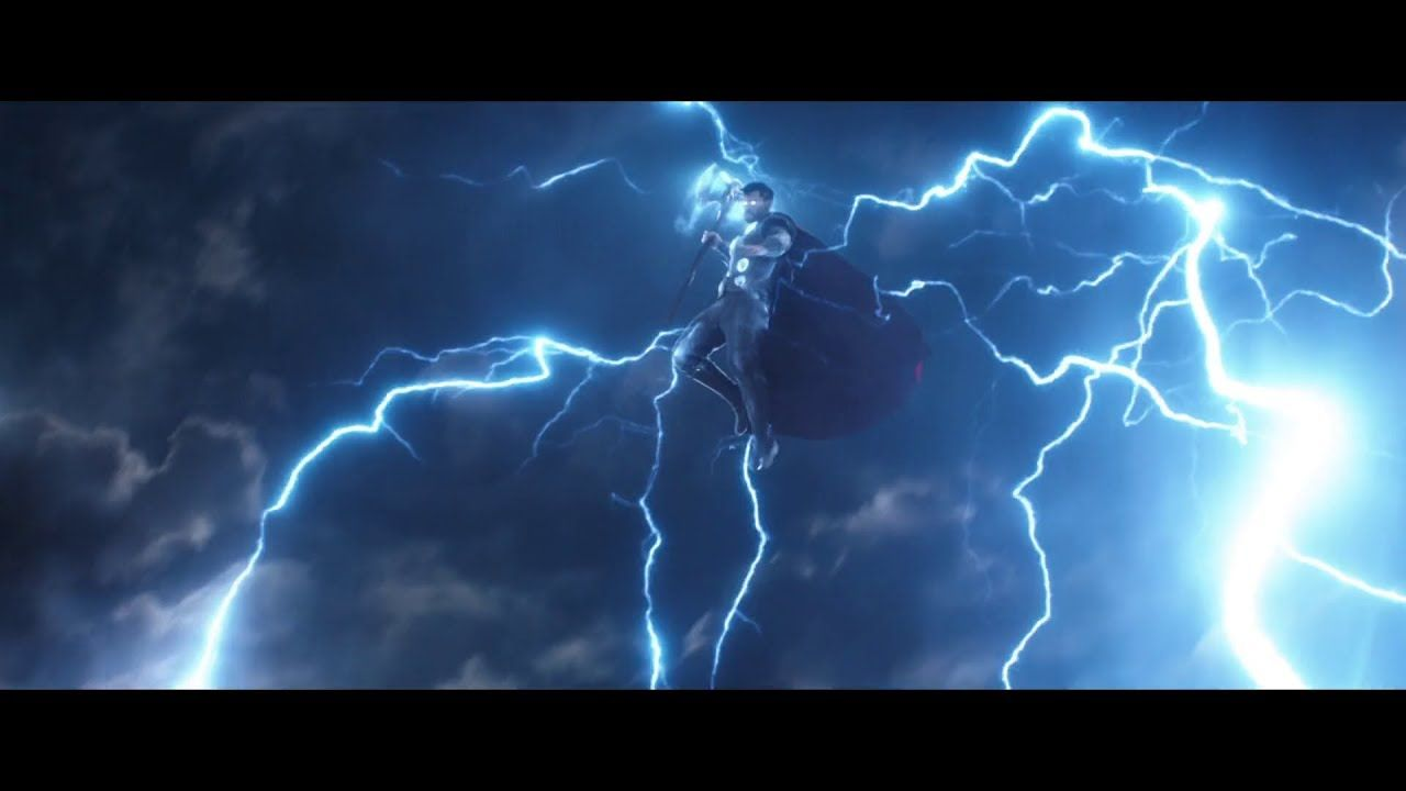 Thor S Entry In Battle Of Wakanda Avengers Infinity War Marvel