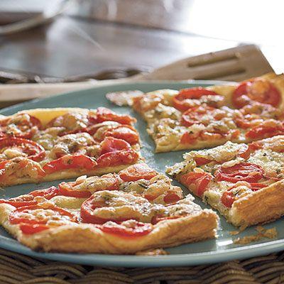 Tomato-Rosemary Tart