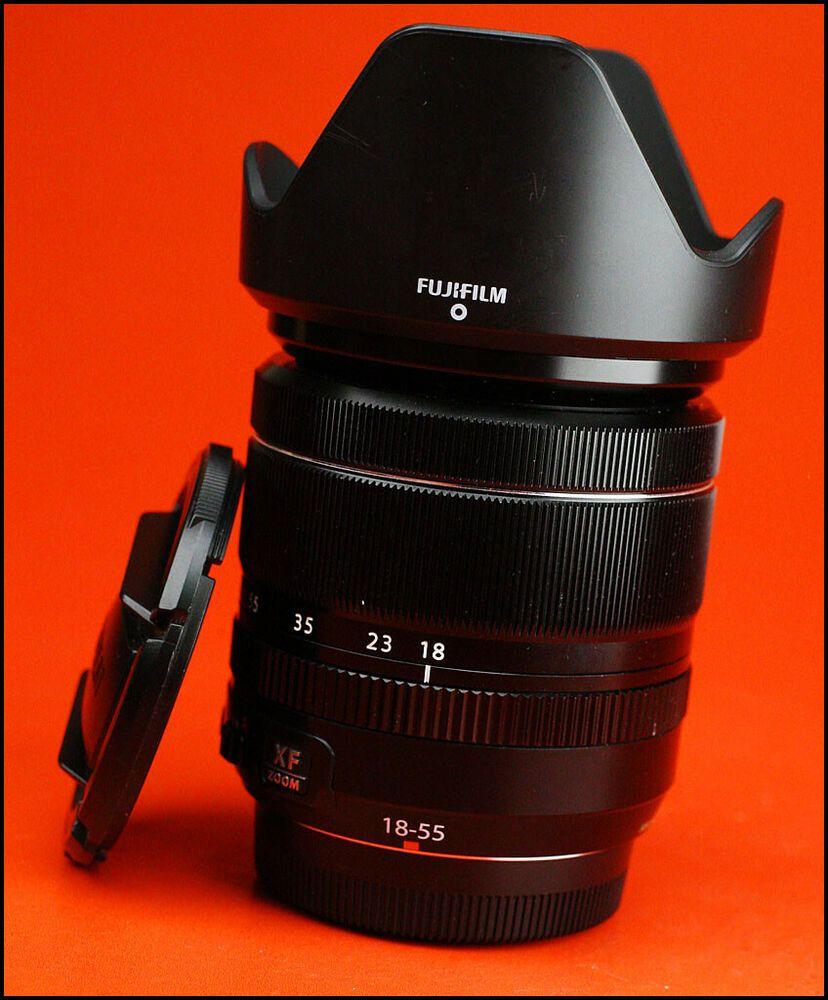 Fuji 18 55mm F2 8 4 R Lm Ois Xf Fujinon Fujifilm Lens With Both Caps Fujifilm Lens Stuff To Buy