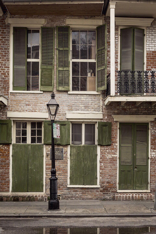 Green shutters in the French Quarter | Nєw Orlєans Louisiana ...