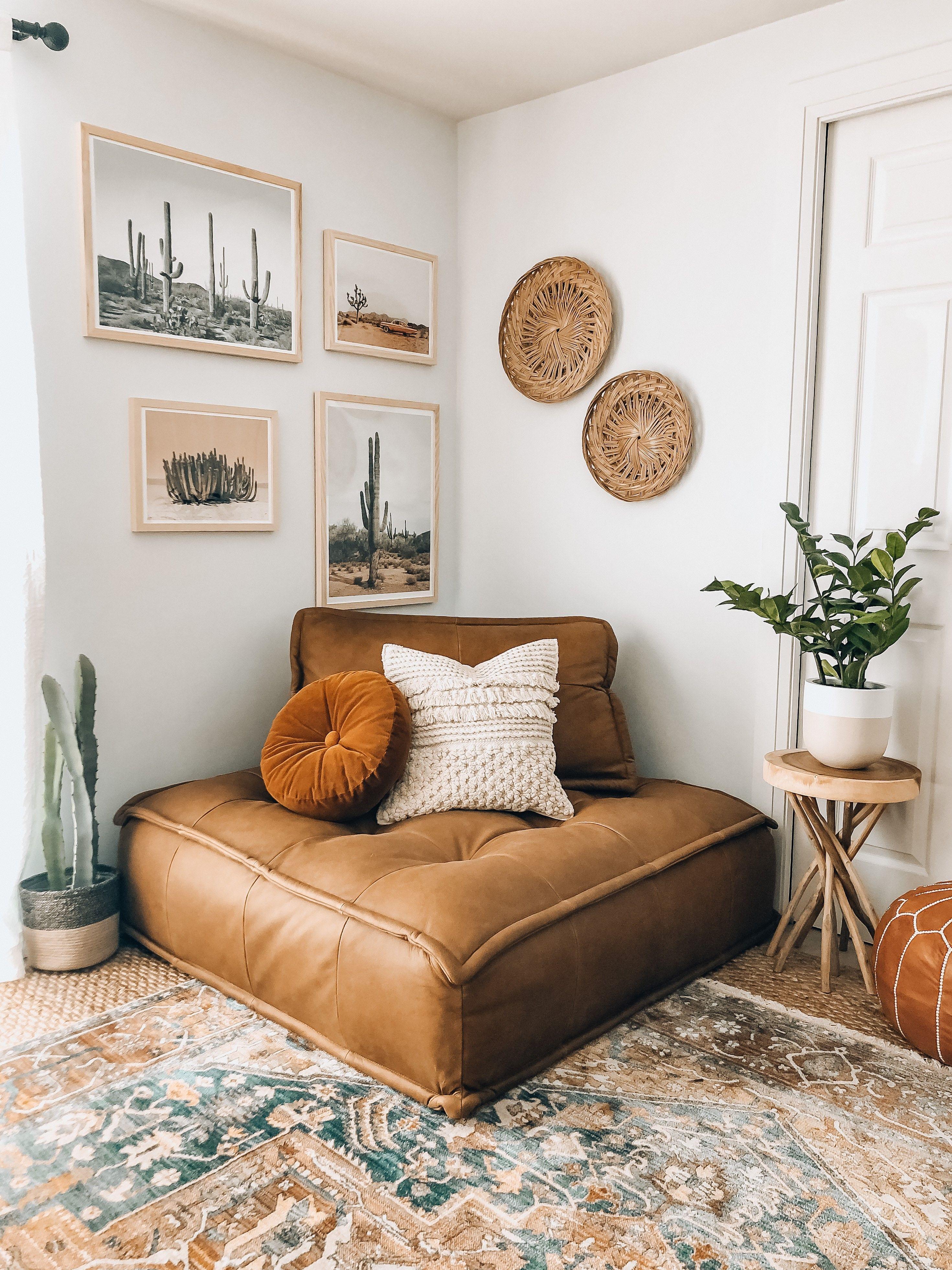 Brio Lounge Chair - Cognac Leather