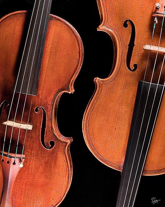 Stradivarius Violin And Maggini Viola Stradivarius Violin Violin Viola