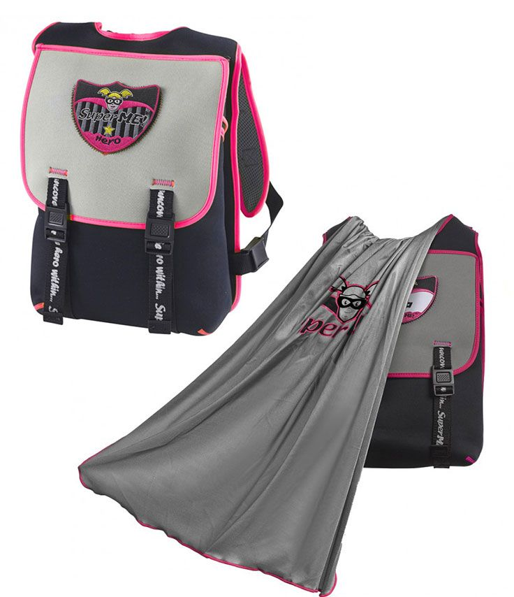 Superhero backpacks for girls - From the outside b05523156bd2b