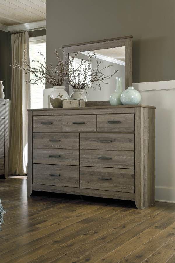 Ashley Furniture Zelen Dresser And Mirror Dressers