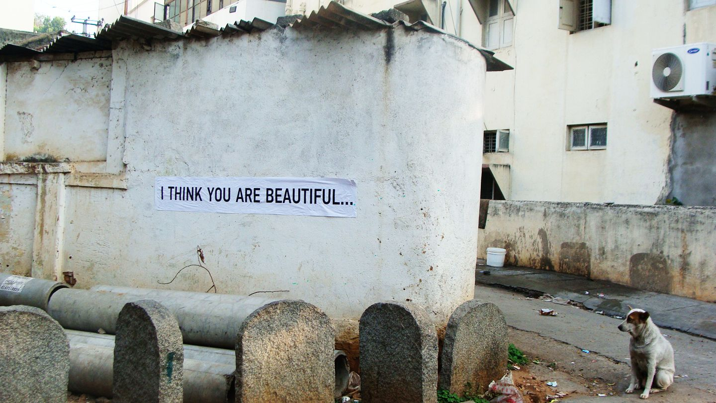 street art project. bangalore india. www.tosay.it www.tosayit.in
