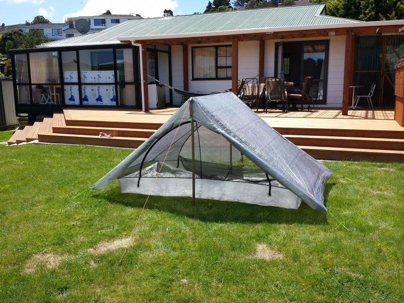 Making a 2 man Cuben Fiber Tent Backpacking Light